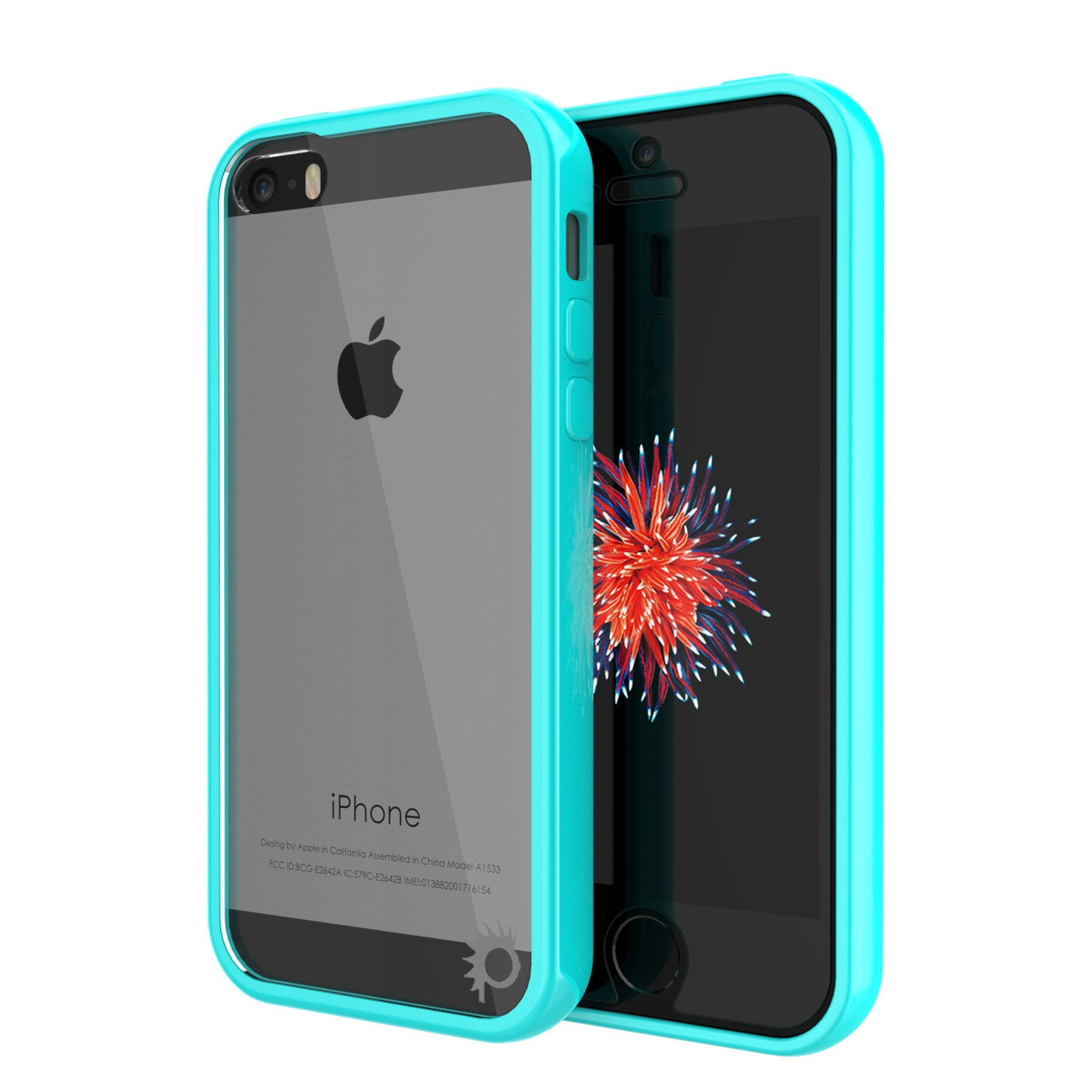 iPhone SE/5S/5 Case Punkcase® LUCID 2.0 Teal Series w/ PUNK SHIELD Screen Protector | Ultra Fit