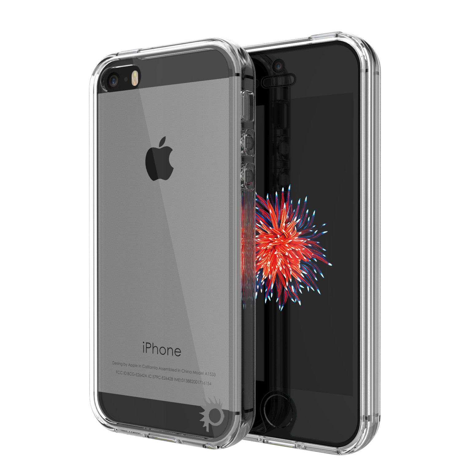 info for b8760 c2ec1 iPhone SE/5S/5 Case Punkcase® LUCID 2.0 Clear Series Series w/ PUNK SHIELD  Screen Protector | Ultra Fit