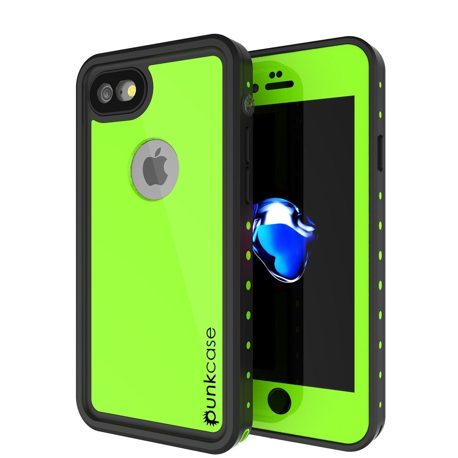 "iPhone SE (4.7"") Waterproof Case, Punkcase [Light Green] [StudStar Series] [Slim Fit][IP68 Certified]  [Dirt/Snow Proof]"