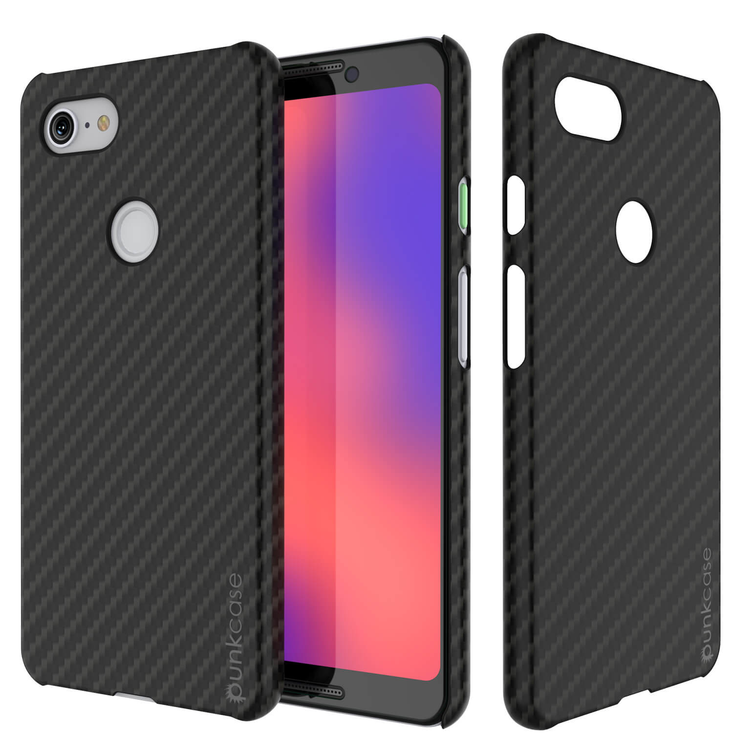 online retailer 56479 2e237 Google pixel 3 CarbonShield Heavy Duty & Ultra Thin 2 Leather Cover