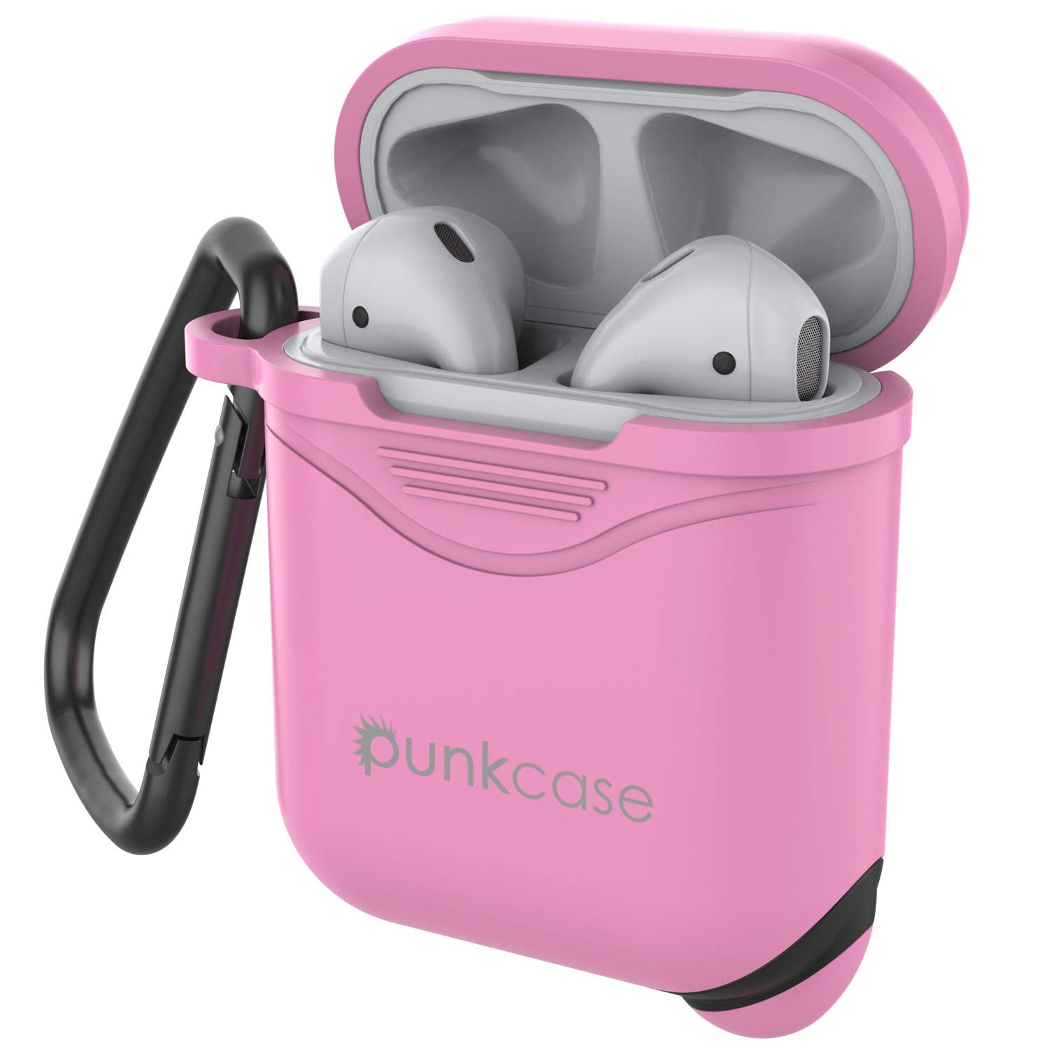 Punkcase Airpod Case with Keychain (Pink)