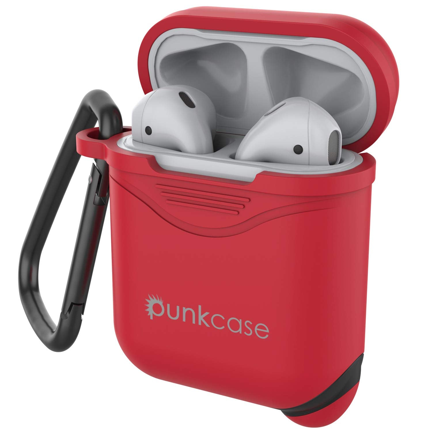 Punkcase Airpod Case with Keychain (Red)