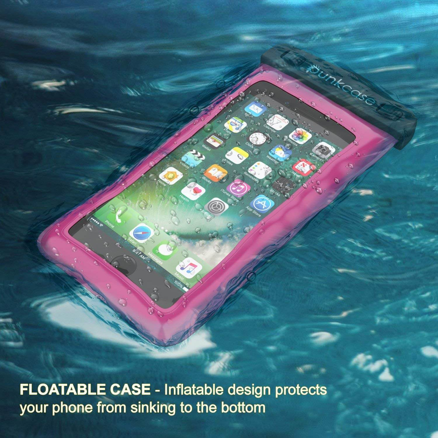 sneakers for cheap 100f2 2712f Waterproof Phone Pouch, PunkBag Universal Floating Dry Case Bag for mo