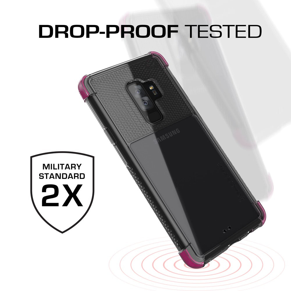 Galaxy S9+ Plus Case | Covert 2 Series | [Pink]