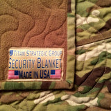 TSG MultiCam® Security Blanket® custom | Military Throw Blanket