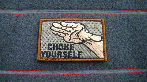 Choke Yourself morale patch