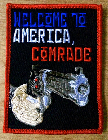 Welcome to America, Comrade Morale Patch