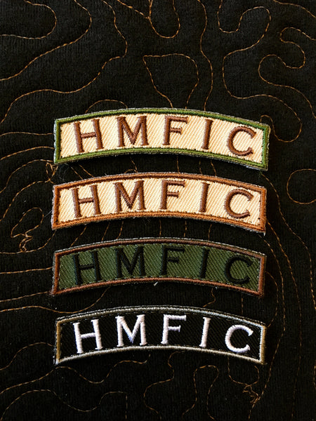 TSG HMFIC Tab Patch | Tactical Morale Gear