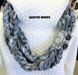 Hand-Crafted, Quilted Scarves
