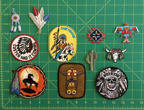 Native American Collection patches