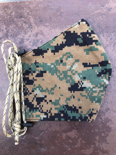 MARPAT Woodland Face Mask
