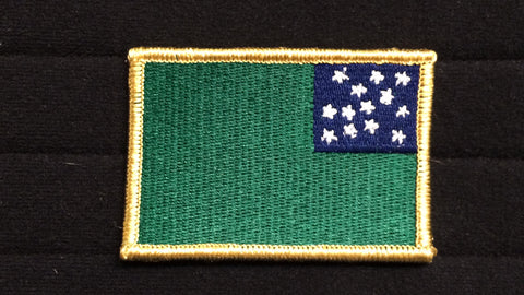 Green Mountain Boys Battle Flag patch v2