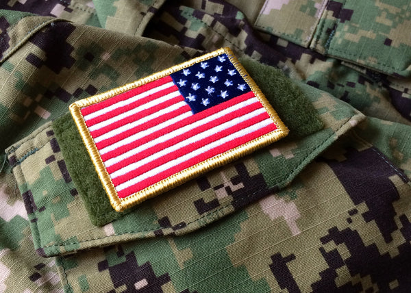 Star Spangled Banner Battle Flag morale patch V2