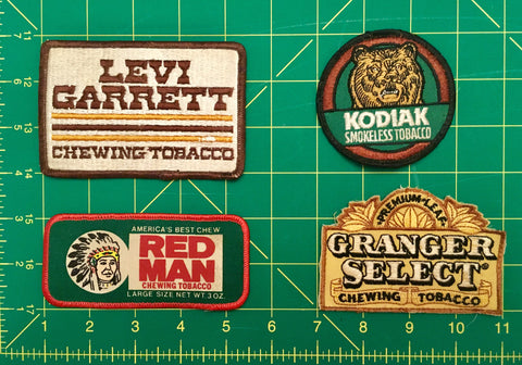 Vintage Chewing Tobacco Collection morale patches