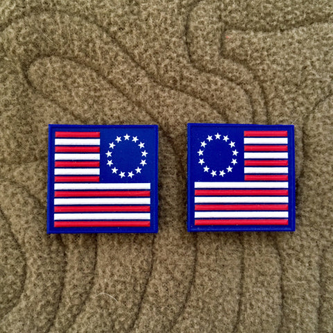 TSG Betsy Ross Ranger Eye Morale Patch Set