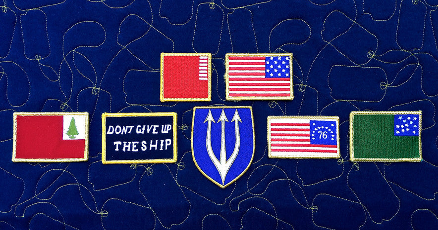 TSG Battle Flag Morale Patches