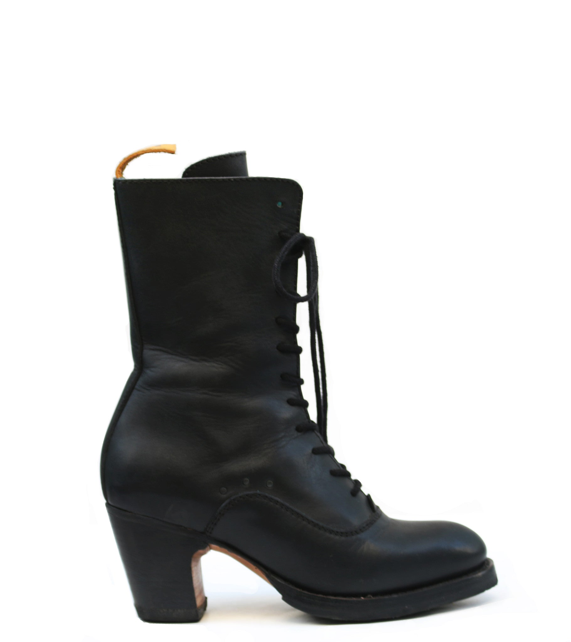 No.1018 CROSSWALK tall lace-up boot Sigil - pskaufmanfootwear