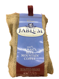 Jablum - 100% Jamaica Blue Mountain Coffee - Roasted & Ground Beans - 227g