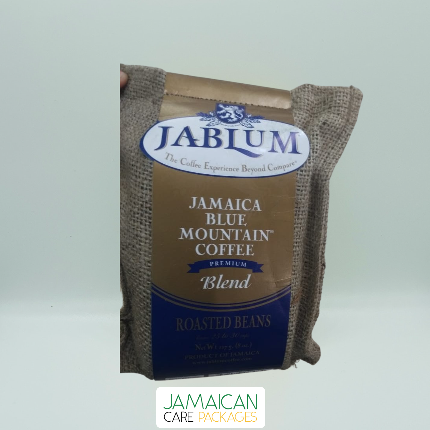 Jablum - Jamaica Blue Mountain Coffee - Premium Blend - Roasted & Ground Beans - 227g