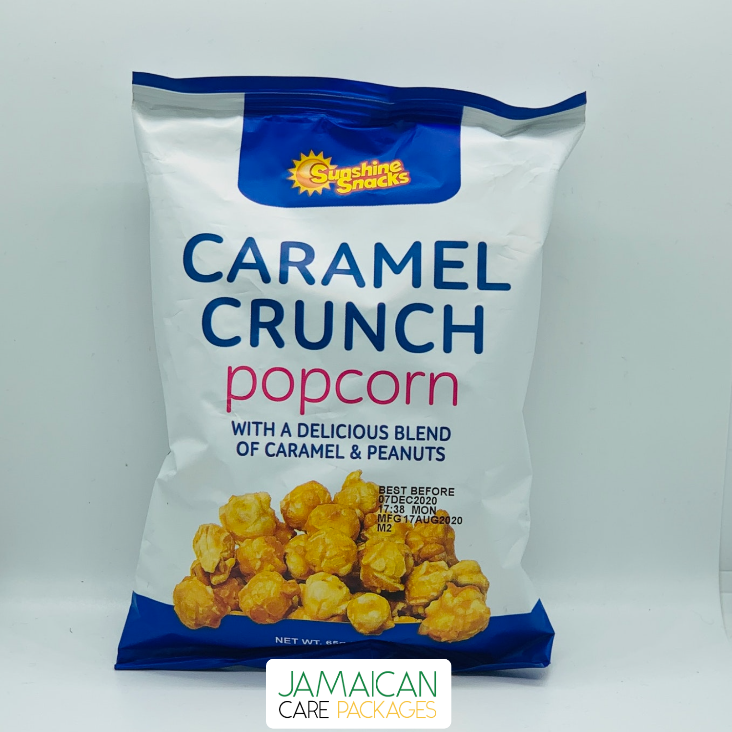 Caramel Crunch Popcorn - Med - 65g (Bundle of 2)
