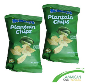 St Marys - Plantain Chips (Bundle of 2)