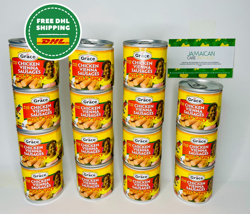 Tin Sausage (Chicken) Package - Fast N Free Shipping