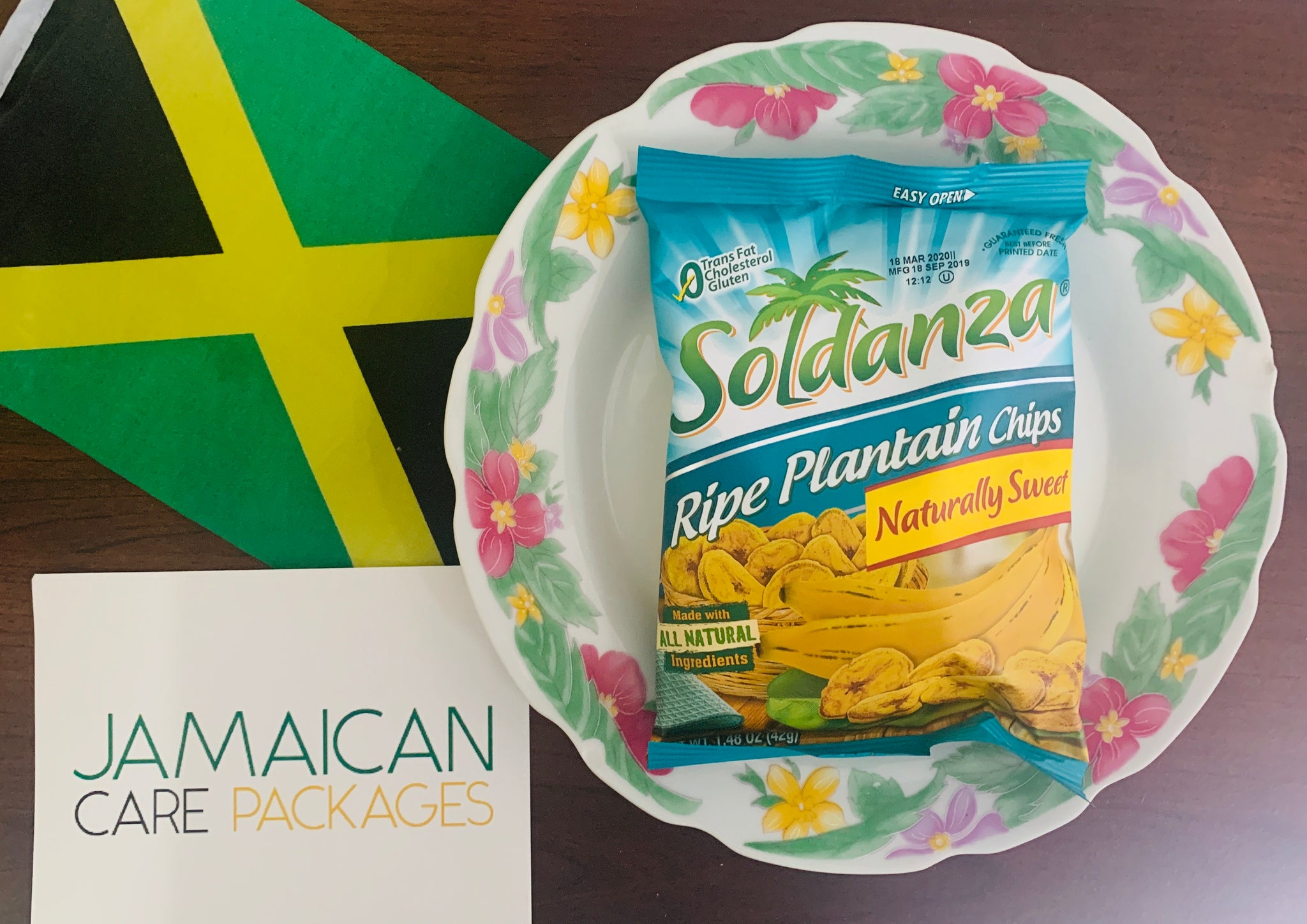 Soldanza Ripe Plantain Chips (Bundle of 2)
