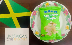 St Marys - Cassava Chips - Sour Cream ( Bundle of 2)