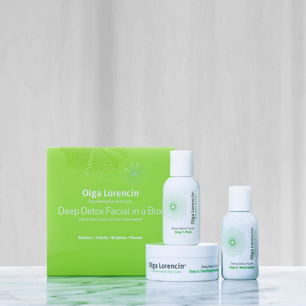 Deep Detox Facial in a Box - Olga Lorencin Skin Care