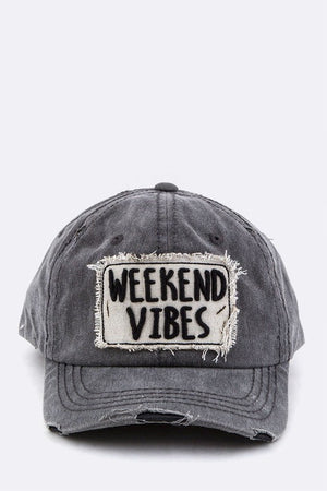 WEEKEND VIBES Embroidery Strapback | Arcade Attire