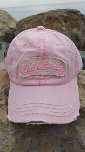 BAD HAIR DAY Embroidery Strapback | Arcade Attire
