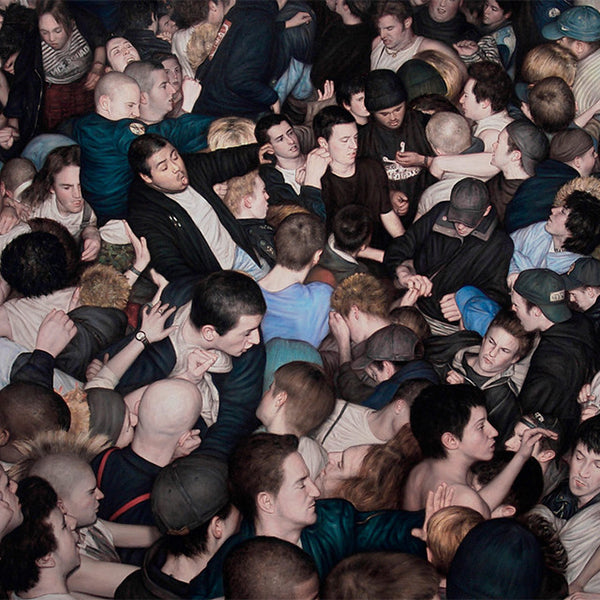 DAN WITZ // THE ART OF MOSH PITS
