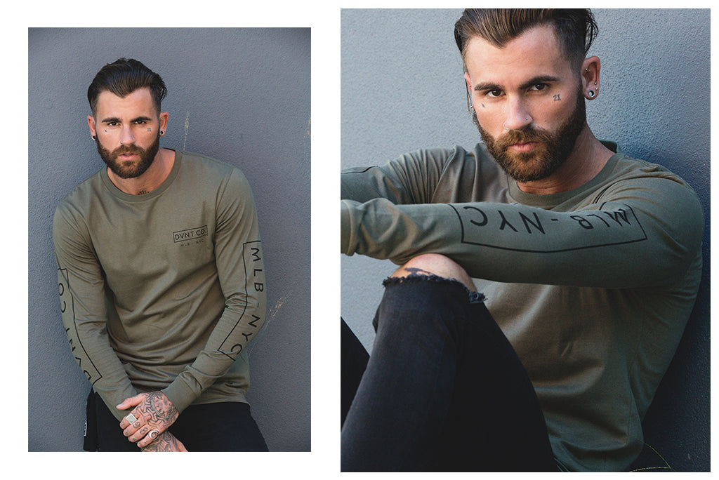 DVNT x CHRIS PERCEVAL URBAN WANDERER