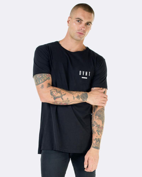 FRAMED TEE - BLACK