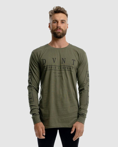mens-olive-long-sleeve-t-shirt