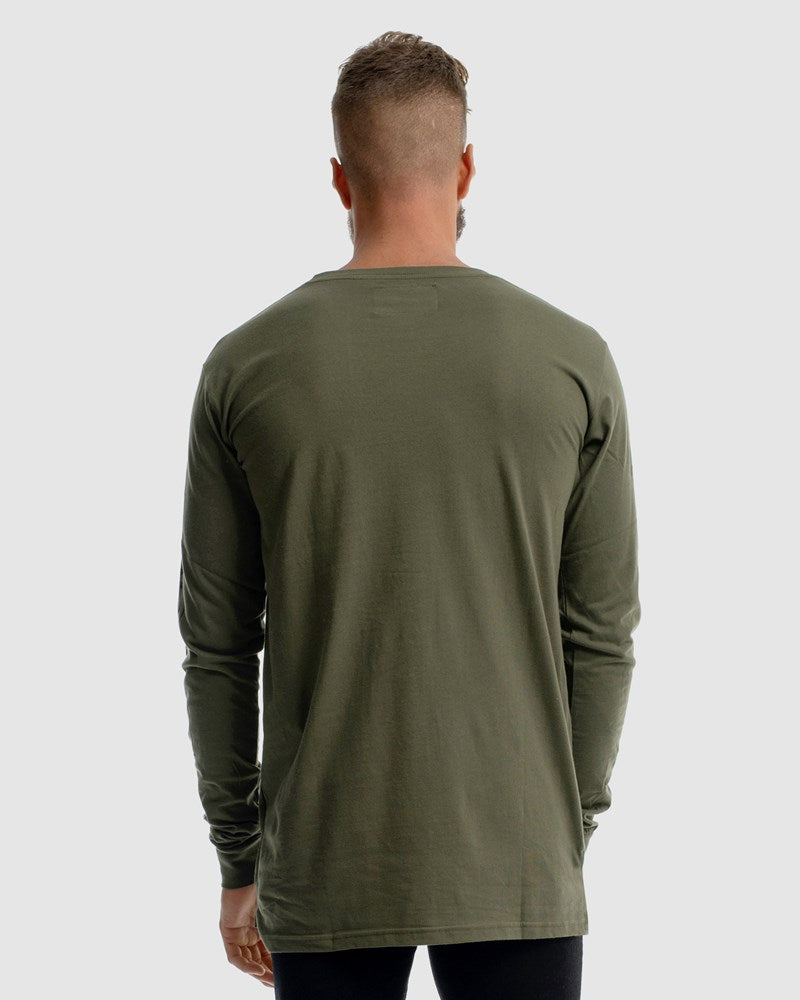 Deluxe Long Sleeve - Olive