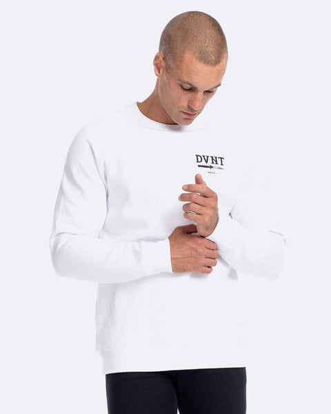 SWITCHBLADE CREWNECK - WHITE