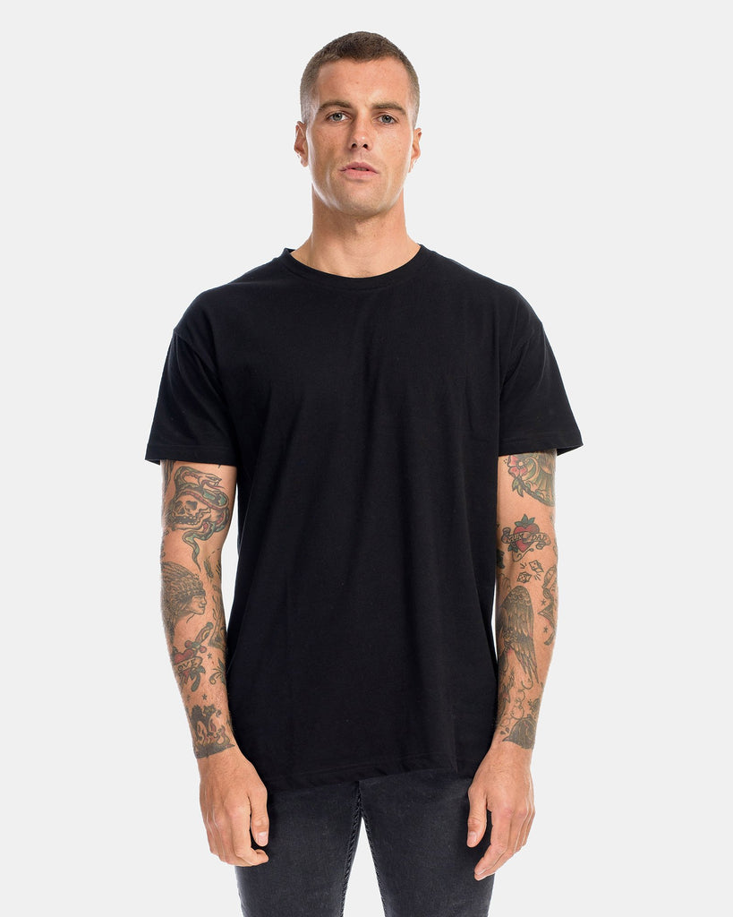 Mens T-Shirts Black