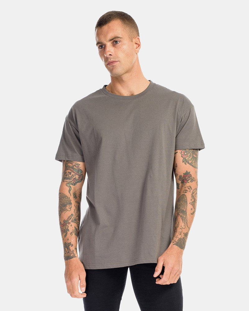 Over Size Tee - Coal