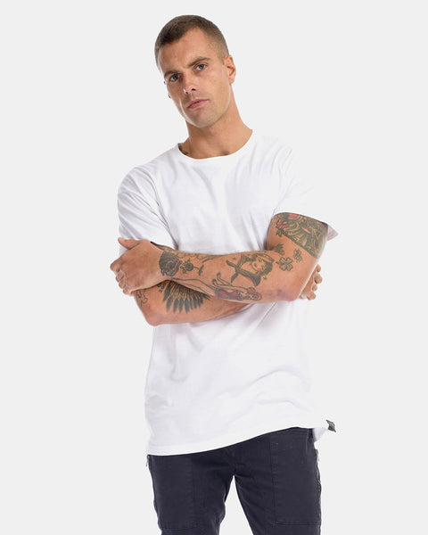 OVER SIZE TEE - WHITE