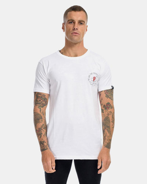 UPRISING TEE - WHITE