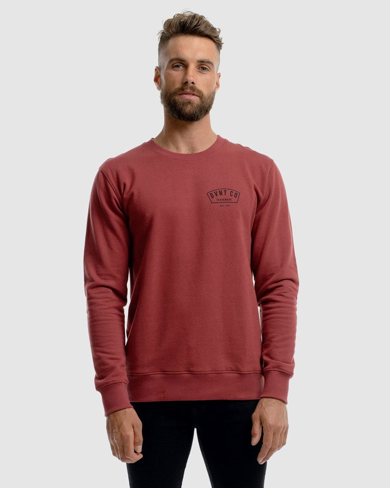 Bailey Crewneck - Rust