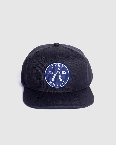 Cut Throat Bold Snapback - Black