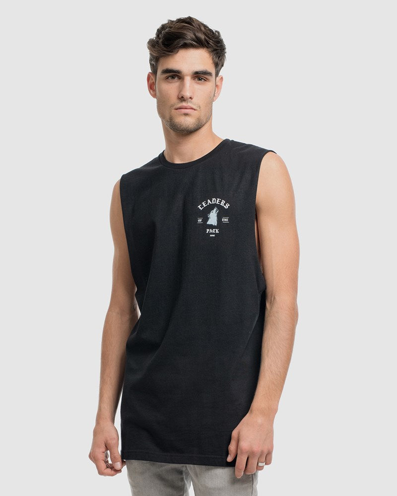 Leaders Of The Pack Tank - Black