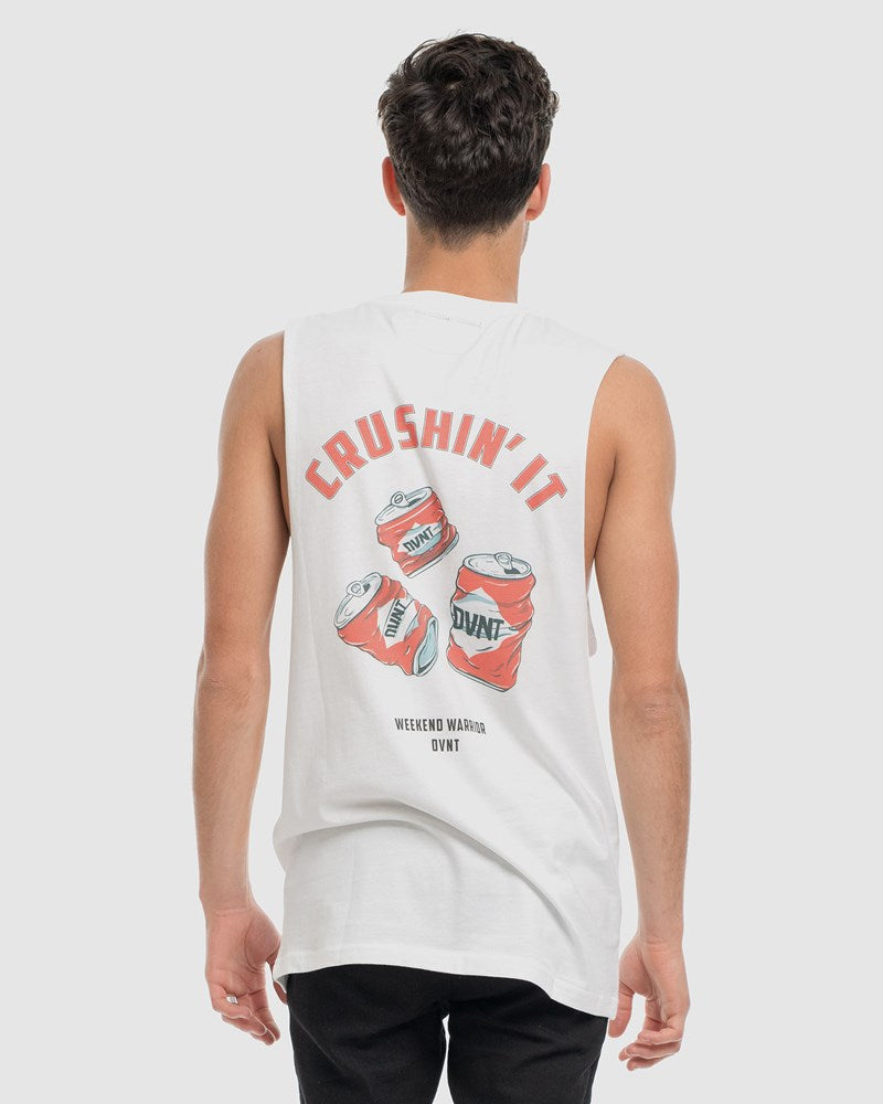 Crushin It Tank - White