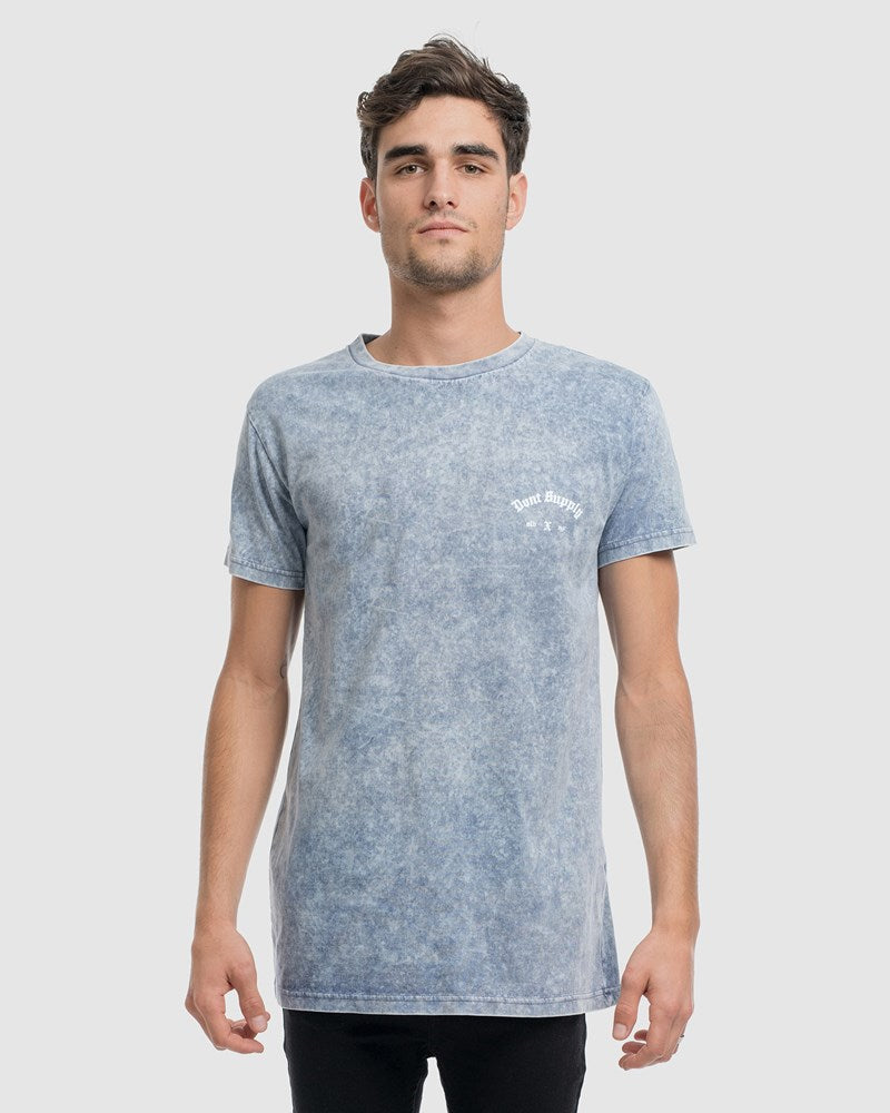 Originals Crest Tee - Storm Wash