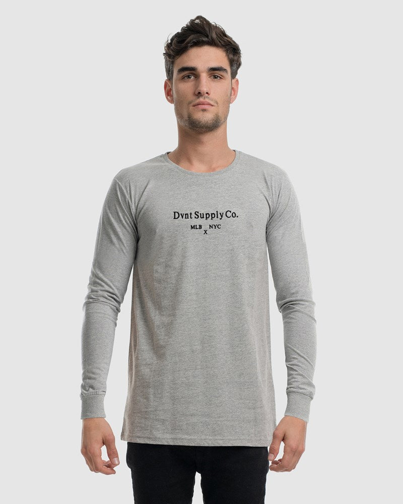 Scripture Embroidery Long Sleeve Tee