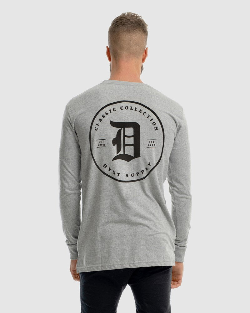 Clean Classic Long Sleeve Tee