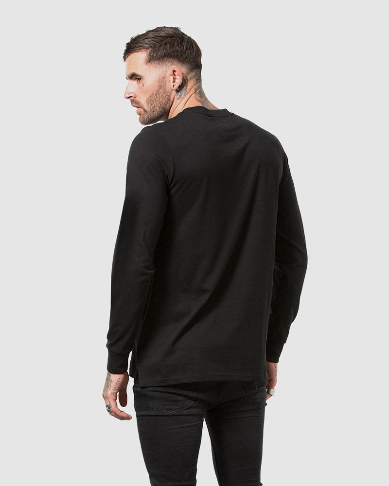 Ethos Logo Long Sleeve Tee