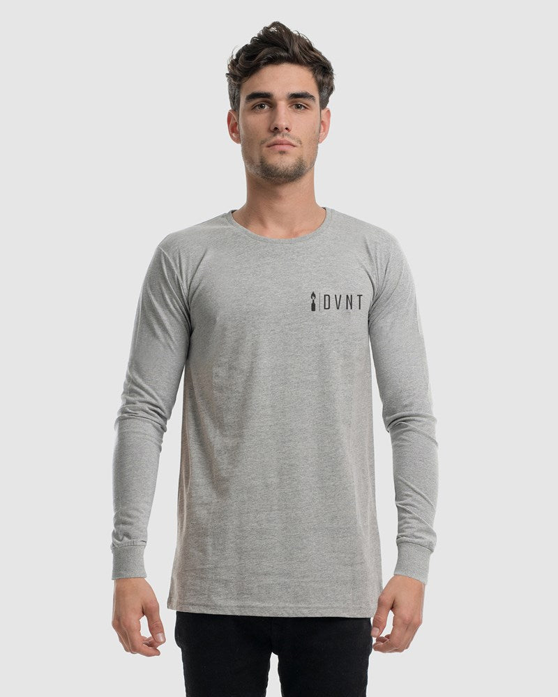 Ethos Crest Long Sleeve Tee